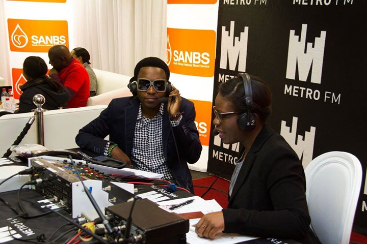 Metro FM Visits SANBS HQ For Blood National Blood Donor Month11