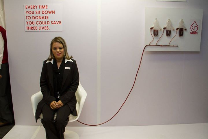 Metro FM Visits SANBS HQ For Blood National Blood Donor Month15