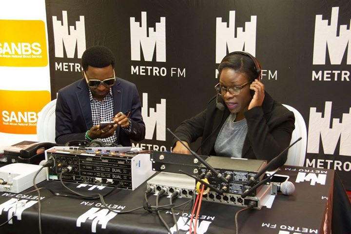 Metro FM Visits SANBS HQ For Blood National Blood Donor Month2