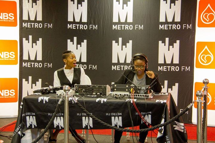Metro FM Visits SANBS HQ For Blood National Blood Donor Month30