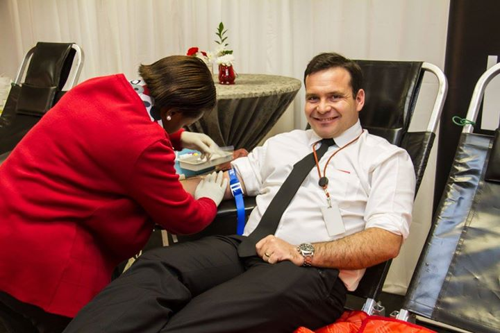 Metro FM Visits SANBS HQ For Blood National Blood Donor Month37