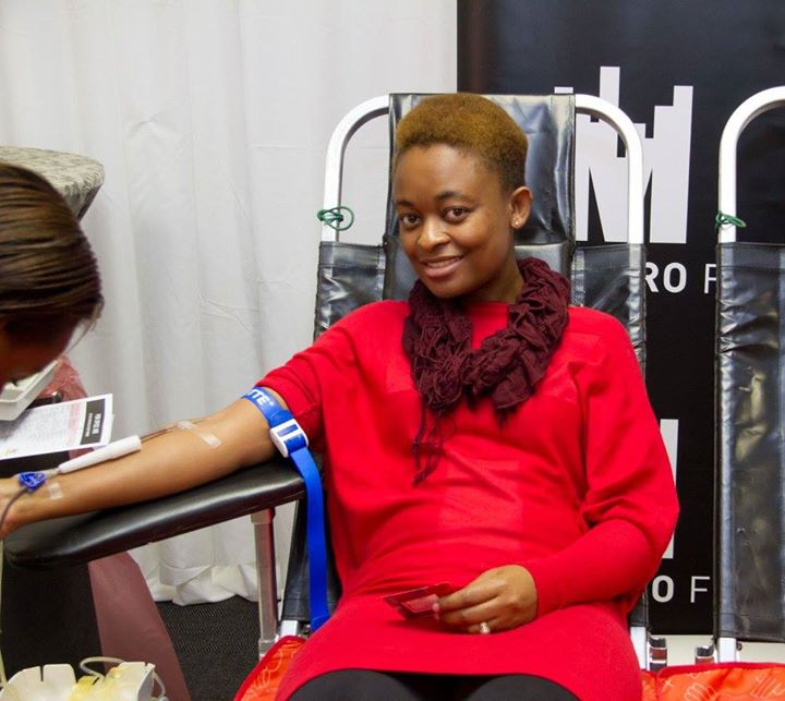 Metro FM Visits SANBS HQ For Blood National Blood Donor Month70